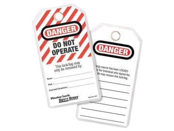 Lockout Tags (12) - DANGER DO NOT OPERATE